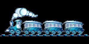 Vlak - pojištění POV